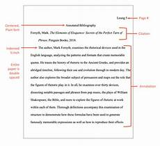 Mla Formatted Bibliographies Annotated Bibliogaphy A Complete Guide For Mla Amp Apa
