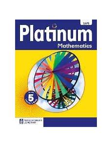 9780636135345 Platinum Mathematics Grade 5 Learners Book