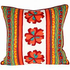 pillow cover flower power pacific textiles