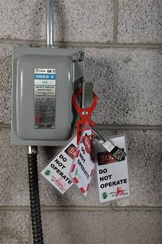 Lock Out Tag Out Electrical Safety I Lockout Procedures Stonehouse Signs