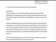 Ejemplos De Cartas De Peticion Carta De Peticion Youtube