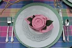 Rose Folding Rose Napkin Fold Diy Liz Bushong
