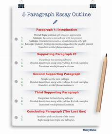 Essay Paragraph Format 5 Paragraph Essay What Is It And How To Write It