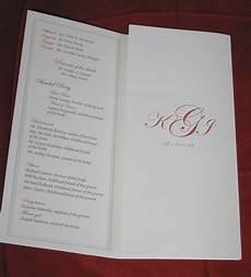 Tri Fold Wedding Programs Tri Fold Wedding Program Inside Aimhd Flickr