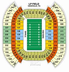 Titans Interactive Seating Chart Nissan Stadium Tennessee Titans Stadium Nissan Stadium
