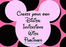 Free Digital Birthday Invitations 3 Wittle Birds Minnie Mouse Digital Invites