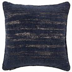mcalister textiles textured chenille filled cushion navy