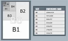 Executive Paper Size Chart B Paper Sizes B0 B1 B2 B3 B4 B5 B6 B7 B8 B9