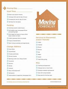 Check List For Moving Free Printable Moving Checklist Planning Pinterest