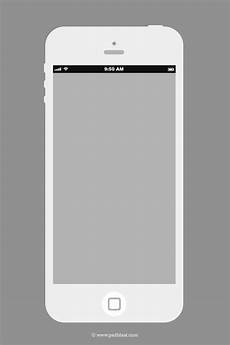 Iphone Apps Design Templates Flat Iphone Wireframe Design Template Psd Psdblast
