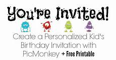 Create An Invitation For Free Create A Personalized Kid S Birthday Invitation With