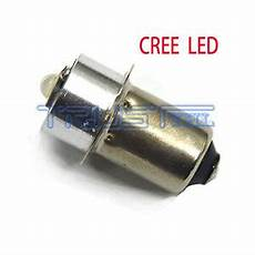 Pr4 Light Bulb Led Cree Flashlights Bulb P13 5s 3w Replacement White For