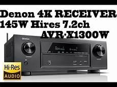 Denon Receiver Comparison Chart Denon Hifi 4k Receiver 145w Hires 7 2ch 4k Ultra Hd