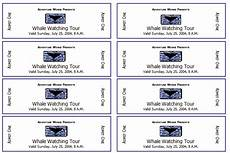 Template For Tickets With Numbers 10 Free Event Ticket Templates For Word And Adobe