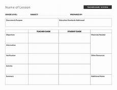 Cps Lesson Plan Template 800 5 Free Lesson Plan Templates Amp Examples Lucidpress