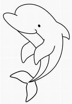 vorlage delphin basteln delphine zeichenvorlagen und