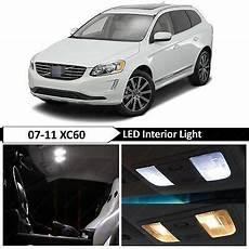 Volvo Xc60 Light Bulbs 10 X White Interior Led Lights Bulb Package Kits For 2010