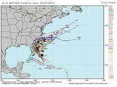 Hurricane Spaghetti Charts The 3 Potential Paths That Hurricane Matthew Will Follow