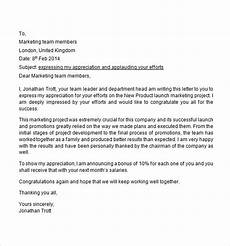 Appreciation Letter To Employees Free 12 Appreciation Letter Templates In Ms Word Apple