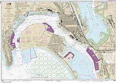 San Diego Bay Depth Chart Noaa Chart 18773 San Diego Bay Stanfords