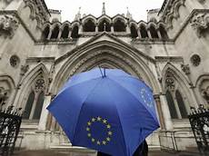 corte suprema europea parlamento decidir 225 salida de la gran breta 241 a de la uni 243 n