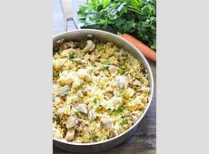 One Pot Creamy Chicken and Rice   I Heart Nap Time