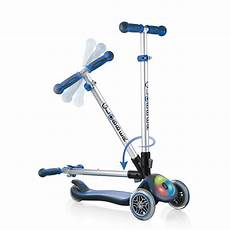 Scooter With Lights Globber Elite 3 Wheel Foldable Scooter For Kids Fold Up
