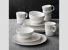 Ito 16 Piece Dinnerware Set   Crate and Barrel