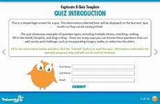 The Learning Smith Captivate 8 Quiz Template