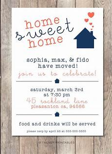 At Home Invitation Housewarming Party Invitation Housewarming Invitation