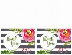 Thank You Cards To Print Free Free Printable Greeting Cards Thank You Thinking Of You