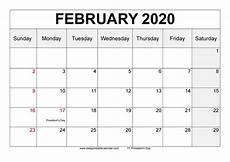2020 calendar doc february 2020 calendar printable blank templates 2020