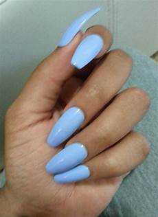 Light Blue Nails Coffin Matte Light Blue Coffin Nails Pastel Blue Press Glue On