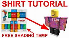 Roblox Shirt 2020 How To Make Roblox Clothing 2019 Shading Template Youtube