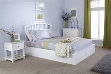 gfw madrid wooden ottoman bed frame in white 163 269 beds
