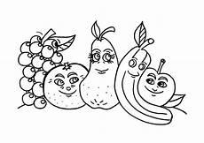 Ausmalbilder Lustiges Obst Ausmalbilder Zum Drucken Malvorlage Fr 252 Chte Obst Und