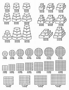 Wilton Cake Pan Serving Size Chart Baking Pricing And Servings On Pinterest Cake Pricing