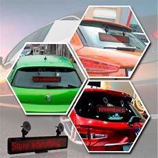 Car Commercial Lighting Led Car Advertising Display Led Scrolling Display Board