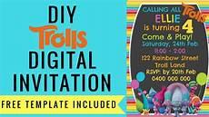 Free Digital Invitation Maker How To Make A Free Trolls Digital Invitation With
