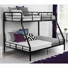 metal bunk bed w ladder bedroom