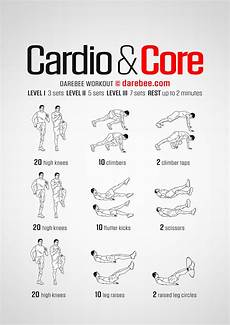 Cardiovascular Exercise Cardio Amp Core Workout