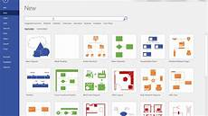 Create Visio Template How To Search For Online Templates In Visio 2016 Youtube