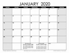 Print Free Monthly Calendar 2020 Download A Free Printable Monthly 2020 Calendar From