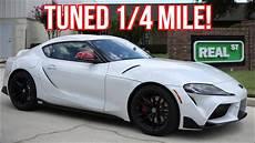 2020 Toyota Supra Quarter Mile by 2020 Toyota Supra Performance Tuned For Quarter Mile