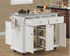 Portable Kitchen Island With Seating For 4 Portable Kitchen Island With Seating For 4