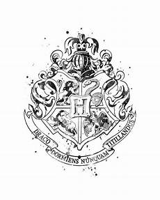 Harry Potter Wappen Malvorlagen Harry Potter Wappen Drucken Kinder Ausmalbilder