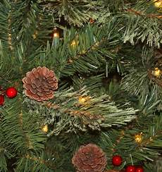Home Depot Trees With Lights National Tree Company 7 5 Ft Cashmere Cone And Berry