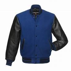 Light Letterman Jacket Jacketshop Jacket Royal Blue Wool Black Leather Letterman