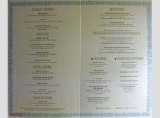 Mediterranean Dinner Menu ? The Disney Cruise Line Blog