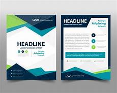 Free Brochure Design Business Brochure Template With Space For Text Vector